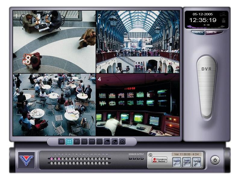 SOFTWARE DE CONTROLE - CFTV